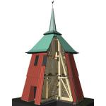 Hajom kyrkas klockstapel, 3D-modell