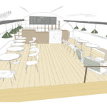 Café i Slottet - idéskiss