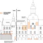 Skadeinventering av slottets fasader och tak