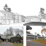 Om- och nybyggnad, Åsa församlingshem