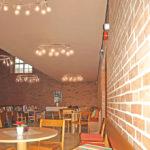 Nya rumsbildningar under läktare, Johannebergskyrkan